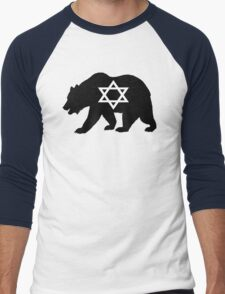 Bear Jew Men's Baseball ¾ T-Shirt