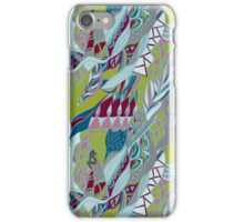 Hand drawn pattern with lines. Bright colors . iPhone Case/Skin