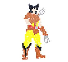 8 bit logan Photographic Print