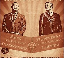 The fight of the Century - Jack Crawford vs Hannibal Lecter by FandomizedRose