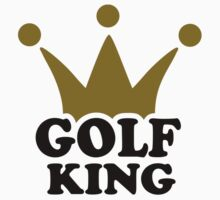 Golf King crown Kids Clothes