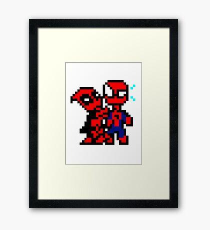 Dead & Spidey Framed Print