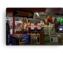 Redondo Beach Arcade 2 Canvas Print