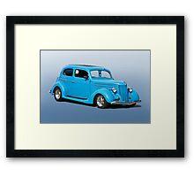 1936 Ford Tudor Sedan 'Studio' Framed Print