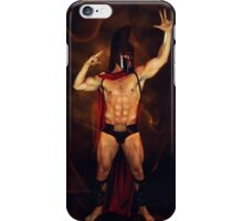 spartan  mike  iPhone Case/Skin