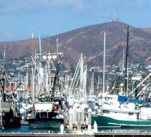 Ventura Harbor Sticker