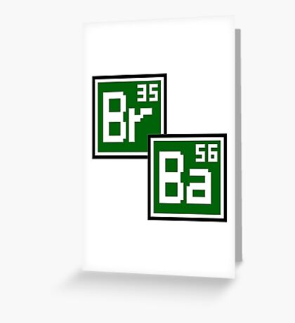 BrBa Greeting Card