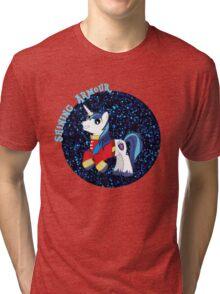 ShiningArmourGlitter Tri-blend T-Shirt