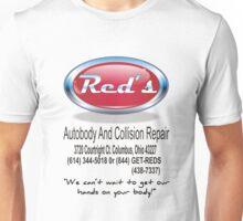 Red's Autobody and Collision Repair logo shirt Unisex T-Shirt