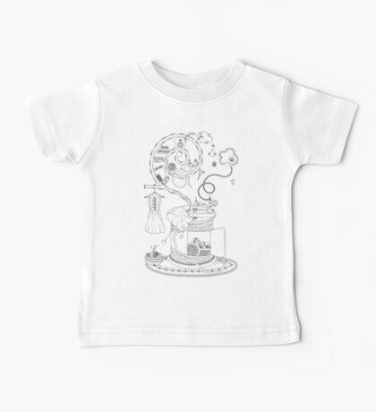 Sewing studio - Magical home Baby Tee