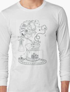 Sewing studio - Magical home Long Sleeve T-Shirt