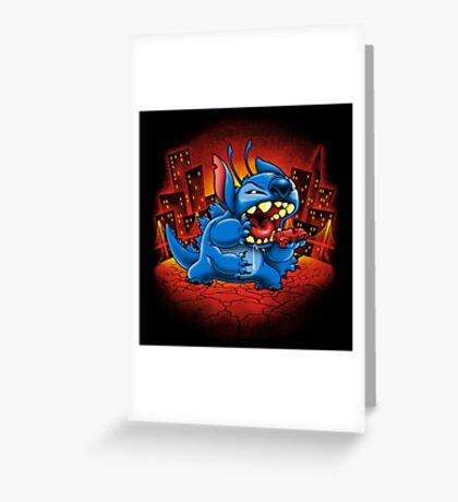 Stitchzilla Greeting Card