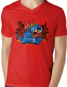 Stitchzilla Mens V-Neck T-Shirt