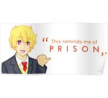 Thugisa 50% Off! - Reminds Me of Prison Poster