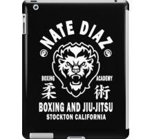 Nate Diaz Boxing And Jiu-Jitsu iPad Case/Skin