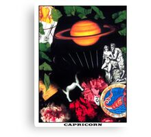Astrology Series: Capricorn Canvas Print