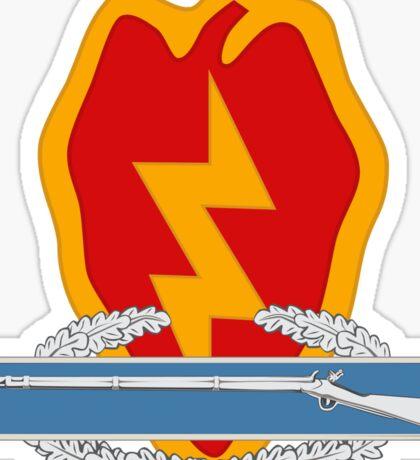 25th Infantry CIB Sticker
