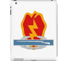 25th Infantry CIB iPad Case/Skin