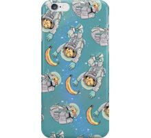 Space Critters - Hamster and Monkey iPhone Case/Skin