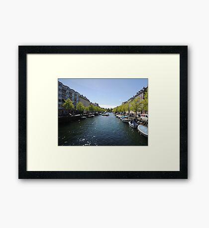Drifting Away (Copenhagen 2014)  Framed Print