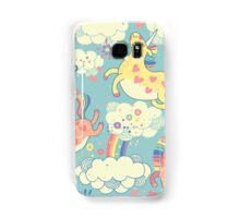 Fancy Rainbow Unicorns Samsung Galaxy Case/Skin