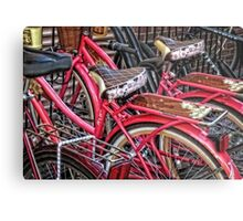 Twins - Bicycle Art By Sharon Cummings Metal Print