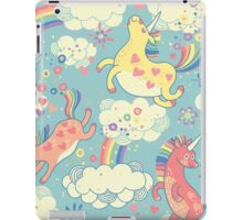 Fancy Rainbow Unicorns iPad Case/Skin