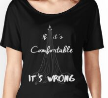 It's Wrong - Silks White Women's Relaxed Fit T-Shirt