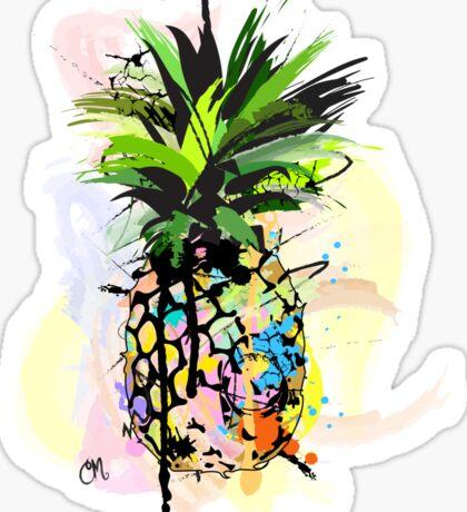 Pineapple Art Sticker