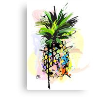 Pineapple Art Canvas Print