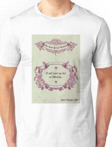 The best lies of women Unisex T-Shirt