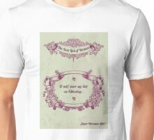 The best lies of women Unisex T-Shirt