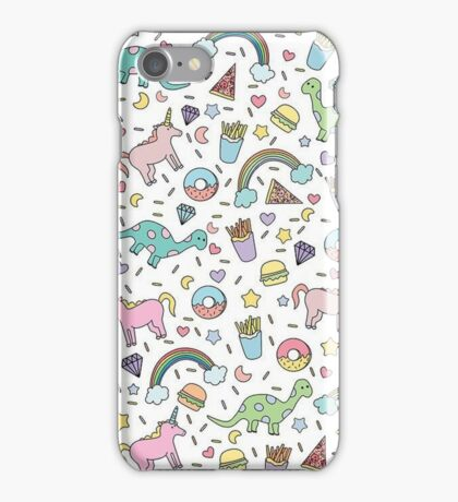 Dinosaurs and Unicorns iPhone Case/Skin