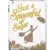 Spoonful of sugar iPad Case/Skin