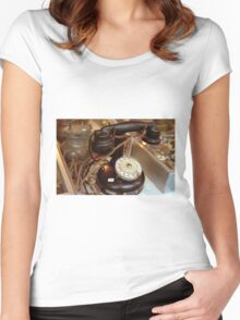 Phone Rue Cler Women's Fitted Scoop T-Shirt