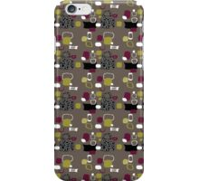 Retro 50s abstract iPhone Case/Skin