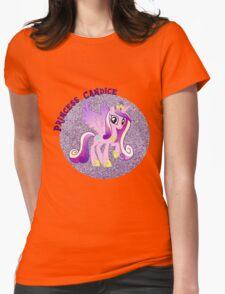 PrincessCandiceGlitter  Womens Fitted T-Shirt
