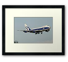 Air Bridge Cargo Framed Print