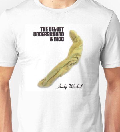 The Velvet Underground & Nico recreated with a sock Unisex T-Shirt
