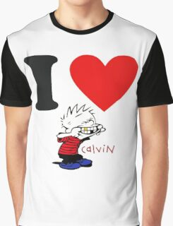 I LOVA CALVIN  Graphic T-Shirt
