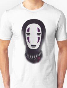 No face - What lies beneath the mask Unisex T-Shirt