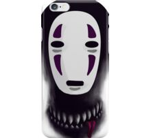 No face - What lies beneath the mask iPhone Case/Skin