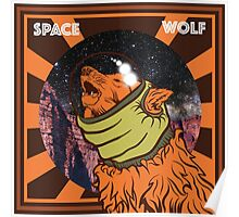 SPACE WOLF Poster