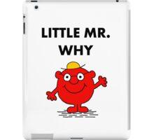 Mr Why iPad Case/Skin