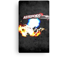 Asteroids Canvas Print