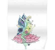 Whimsical Fairy Dragon Poster