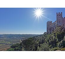View from Óbidos, Portugal Photographic Print