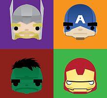 Avengers by BeBeaman