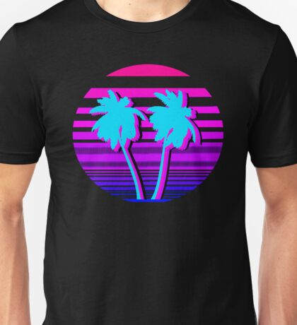 Aesthetic Palm trees Unisex T-Shirt