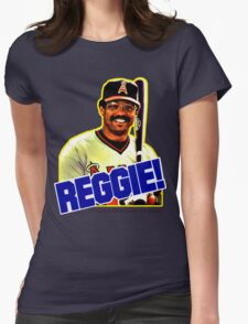 Reggie!  Womens Fitted T-Shirt